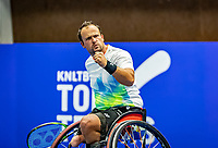 Alphen aan den Rijn, Netherlands, December 22, 2019, TV Nieuwe Sloot,  NK Tennis, Wheelchair final men single: Tom Egberink (NED)<br /> Photo: www.tennisimages.com/Henk Koster