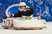 World Championship ICE Racing Series (WCIS) at the ShoWare Center in Kent, Washington on Saturday, Dec. 4, 2010.