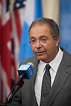 Head of UNSMIL Briefs Press after Security Council Meeting on Libya