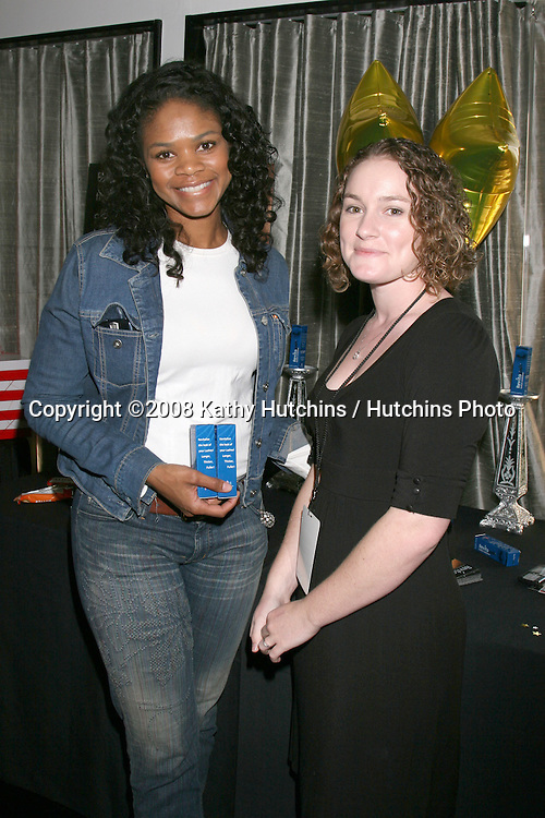 Kimberly Elise.Revitalash.GBK Gifting Suite.Thompson Hotel.Beverly Hills, CA.January 10, 2008.©2008 Kathy Hutchins / Hutchins Photo...            .