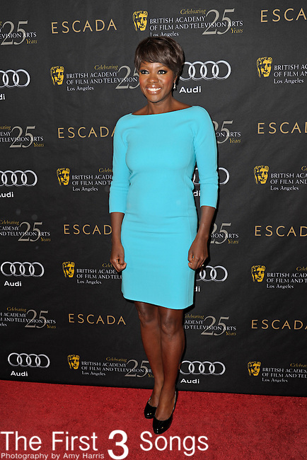Viola Davis attends the 2012 BAFTA Golden Globes Tea Party at the Four Seasons Hotel in Beverly Hills, CA on Saturday, January 14, 2012.