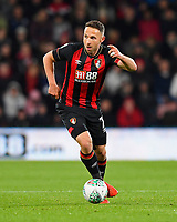 Marc Pugh of AFC Bournemouth during AFC Bournemouth vs Norwich City, Caraboa Cup Football at the Vitality Stadium on 30th October 2018