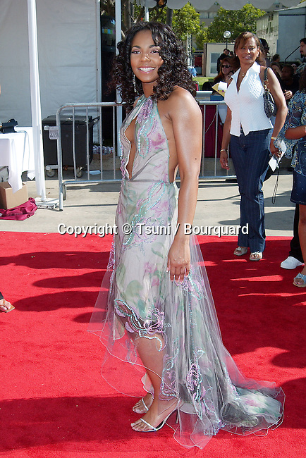 Ashanti arriving at the 8th Annual Soul Train, Lady of Soul Awards at the Pasadena Civic Auditorium in Los Angeles. August, 24, 2002.