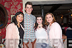 Enjoying a night out at Cassidy's are Ann Corkery, Micheal Costello,who is going to UL to study English and New Media, and Laura Sicat, who is going to UCD to study Arts, Ann Sicat