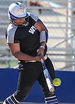 Western Nevada&rsquo;s Briauna Carter hits against College of Southern Nevada at Edmonds Sports Complex in Carson City, Nev., on Friday, April 1, 2016. <br />Photo by Cathleen Allison/Nevada Photo Source