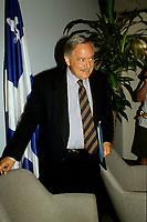 FILE -<br /> Jacques Parizeau<br /> et Lisette Lapointe en juilllet 1994.<br /> <br /> <br /> PHOTO  : Pierre Roussel - Agence Quebec Presse