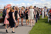 14th September 2017, Doncaster Racecourse, Doncaster, England; The William Hill St Ledger Festival, DFS Ladies Day; Ladies day in full swing at Doncaster