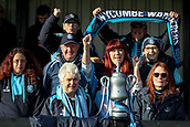 5th November 2017, Damson Park, Solihull, England; FA Cup first round, Solihull Moors versus Wycombe Wanderers; Wycombe Wanderers fans with their own FA Cup