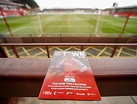 A general view of  Highbury Stadium, home of Fleetwood Town<br /> <br /> Photographer Lee Parker/CameraSport<br /> <br /> The EFL Sky Bet League One - Fleetwood Town v Blackpool - Saturday 7th March 2020 - Highbury Stadium - Fleetwood<br /> <br /> World Copyright © 2020 CameraSport. All rights reserved. 43 Linden Ave. Countesthorpe. Leicester. England. LE8 5PG - Tel: +44 (0) 116 277 4147 - admin@camerasport.com - www.camerasport.com