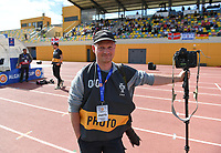 20200304  Parchal , Portugal : Belgian photographer Stijn Audooren pictured during the female football game between the national teams of Denmark and Norway on the first matchday of the Algarve Cup 2020 , a prestigious friendly womensoccer tournament in Portugal , on wednesday 4 th March 2020 in Parchal , Portugal . PHOTO SPORTPIX.BE | DAVID CATRY