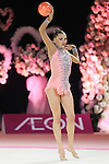 Melitina Staniouta (BLR), OCTOBER 4, 2015 - Rhythmic Gymnastics : AEON CUP 2015 World wide R.G. Club Championships at Tokyo Metropolitan Gymnasium, Tokyo, Japan. (photo by Naoto Akasaka/AFLO)