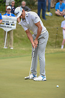 Rafael Cabrera Bello (ESP) watches his putt on 18 during day 3 of the World Golf Championships, Dell Match Play, Austin Country Club, Austin, Texas. 3/23/2018.<br /> Picture: Golffile | Ken Murray<br /> <br /> <br /> All photo usage must carry mandatory copyright credit (&copy; Golffile | Ken Murray)