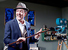 Prism <br /> by Terry Johnson <br /> at Hampstead Theatre, London, Great Britain <br /> press photocall <br /> 11th September 2017 <br /> <br /> <br /> Robert Lindsay as Jack Cardiff <br /> <br /> <br /> Designed by Tim Shortall<br /> Lighting by Ben Ormerod<br /> Sound by John Leonard <br /> Casting by Suzanne Crowley and Gilly Poole <br /> <br /> <br /> Photograph by Elliott Franks <br /> Image licensed to Elliott Franks Photography Services