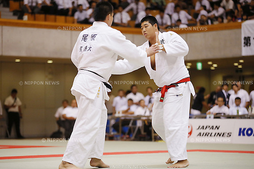 Yusei Ogawa, September 14, 2014 - Judo : All Japan Junior Judo Championships Men's +100kg Final at Saitama Prefectural Budokan, Saitama, Japan. (Photo by Yusuke Nakanishi/AFLO SPORT) [1090]