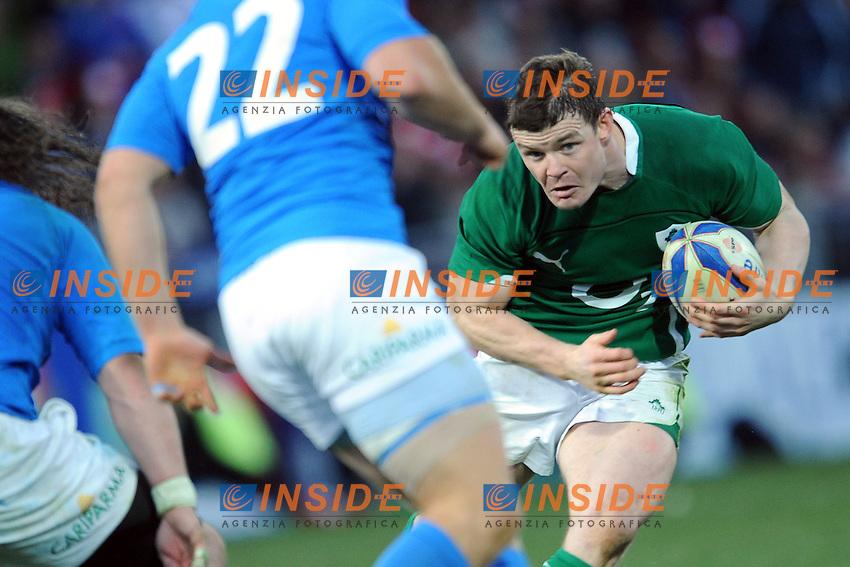 O'Driscoll (Irlanda)<br /> Italia vs Irlanda<br /> Six Nations Rugby<br /> Stadio Flaminio, Roma, 05/02/2011<br /> Photo Antonietta Baldassarre Insidefoto