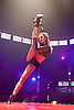 La Soiree<br /> at the La Soiree Spiegeltent, Southbank Centre, London, Great Britain <br /> press photocall<br /> 29th October 2015 <br /> <br /> <br /> <br /> Yammel Rodriguez <br /> aerial acrobatics <br /> <br /> <br /> Photograph by Elliott Franks <br /> Image licensed to Elliott Franks Photography Services