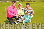 Mary Sheehy, Tralee, Rose Molyneaux, Listowel, Eoleen Kenny-Ryan, ball bunion and  tokk part in the Ladies Presidents golf competition in Ballybunion on Sunday.