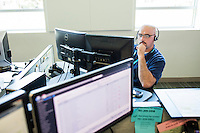 Keith Kennedy works in the call center of New England Organ Bank, an organ procurement organization based in Waltham, Massachusetts, serving the greater New England area. Federal regulations require that all deaths are reported to the local organ procurement organization. This call center fields these reports for most of the New England area, averaging over 30,000 deaths referred and processed through this call center per year.