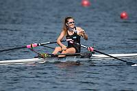 Rotterdam. Netherlands.  Bronze Medalist GER BW1X. Carlotta NWAJIDE, 2016  {WRCH2016}  at the Willem-Alexander Baan.   Friday  26/08/2016 <br /> <br /> [Mandatory Credit; Peter SPURRIER/Intersport Images]