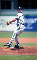 Knoxville Smokies pitcher Randy Phillips (32) during a 1994 Southern League game against the Orlando Cubs at Tinker Field in Orlando, Florida.  (Tyler Bolden/Four Seam Images)