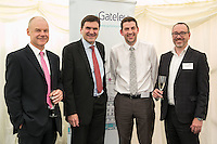 Pictured from left is Gateley Plc Nottingham senior partner Andy Matthews, Gerry McPake and Dale Cowdell both of Allied Irish Bank, and Gareth John of Gateley Plc