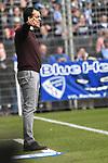 10.03.2018, Vonovia Ruhrstadion, Bochum, GER, 2.FBL., VfL Bochum vs. Holstein Kiel<br /> im Bild / picture shows: <br /> Robin Dutt Trainer Headcoach (VfL Bochum), <br /> <br /> <br /> <br /> Foto &copy; nordphoto / Meuter