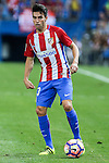 Atletico de Madrid's Nico Gaitan during the match of La Liga Santander between Atletico de Madrid and Deportivo Alaves at Vicente Calderon Stadium. August 21, 2016. (ALTERPHOTOS/Rodrigo Jimenez)