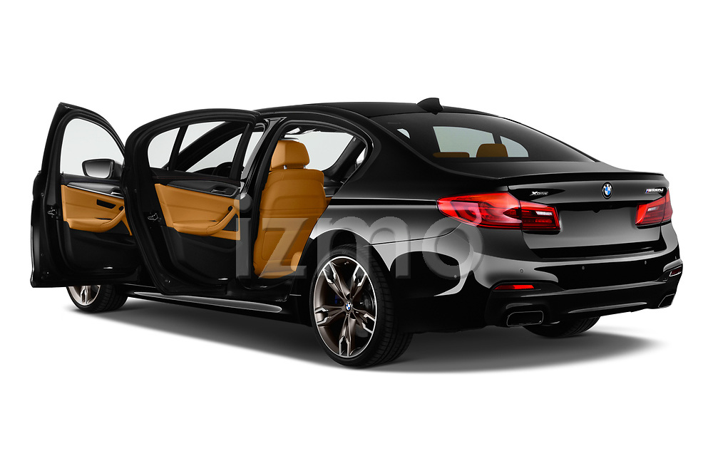 Car images close up view of a 2018 BMW 5 Series base 4 Door Sedan doors