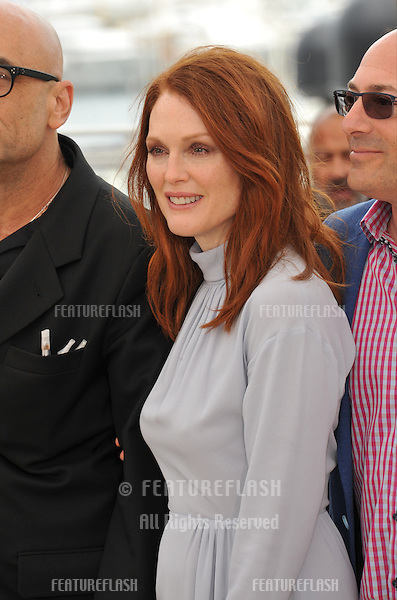 Julianne Moore at the photocall for her movie &quot;Maps to the Stars&quot; at the 67th Festival de Cannes.<br /> May 19, 2014  Cannes, France<br /> Picture: Paul Smith / Featureflash