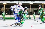Stockholm 2014-12-02 Bandy Elitserien Hammarby IF - IFK V&auml;nersborg :  <br /> V&auml;nersborgs Christoffer Fagerstr&ouml;m i kamp om bollen med Hammarbys Per Einarsson under matchen mellan Hammarby IF och IFK V&auml;nersborg <br /> (Foto: Kenta J&ouml;nsson) Nyckelord:  Elitserien Bandy Zinkensdamms IP Zinkensdamm Zinken Hammarby Bajen HIF IFK V&auml;nersborg