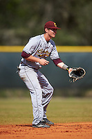 Central Michigan Chippewas shortstop Zach McKinstry (8) during a game against the Boston College Eagles on March 8, 2016 at North Charlotte Regional Park in Port Charlotte, Florida.  Boston College defeated Central Michigan 9-3.  (Mike Janes/Four Seam Images)