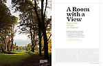 National Geographic Traveler - Landmark Trust - August 2011