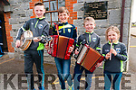 Lixnaw Feile:Taking part in competition at the Lixnaw Feile at the Ceolan Centre, Lixnaw on Sunday last were Daragh, Conor, Thomas & Sarah Breen from Kilflynn.