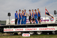 2012 MO State XC Class 2 Boys Team Awards