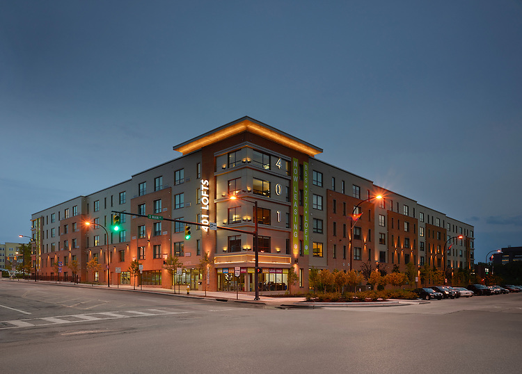 University of Akron 401 Lofts Off-Campus Student Housing | Bialosky & Partners Architects