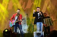 SÃO PAULO,SP, 11.06.2017 - FESTA-JUNINA - A dupla Marcos & Belutti durante apresentação na Festa Junina da Portuguesa na região norte de São Paulo na noite deste domingo, 11 (Foto: Eduardo Martins/Brazil Photo Press).