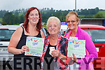 Helen, Kate and Mary Hartnett Abbeyfeale were delighted to get back to bingo in Killarney on Sunday evening