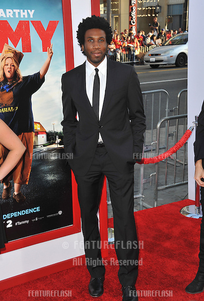 Nyambi Nyambi at the premiere of &quot;Tammy&quot; at the TCL Chinese Theatre, Hollywood.<br /> June 30, 2014  Los Angeles, CA<br /> Picture: Paul Smith / Featureflash