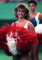 Montreal Concordes Cheerleaders 1985. Photo F. Scott Grant