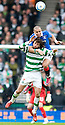 :: RANGERS' MADJID BOUGHERRA GETS A GRIP OF CELTIC'S GEORGIOS SAMARAS ::