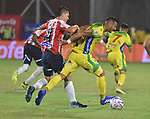 Junior venció 3-0 a Atlético Huila. Fecha 4 Liga Águila II-2018.