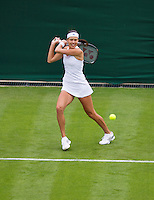 24-06-13, England, London,  AELTC, Wimbledon, Tennis, Wimbledon 2013, Day one, Ana Ivanovic (SRB)<br /> <br /> <br /> <br /> Photo: Henk Koster