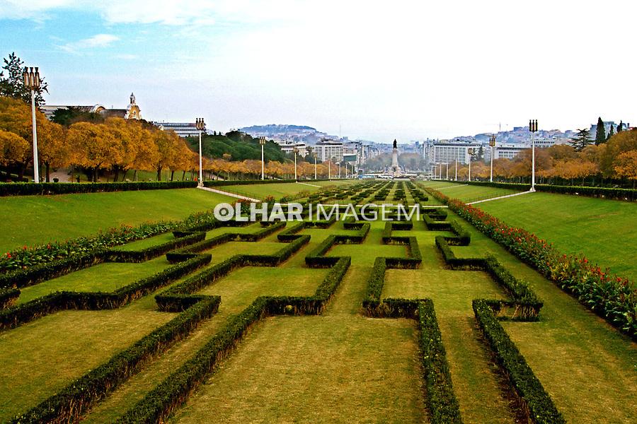 Parque Eduardo VII. Lisboa. Portugal. 1999. Foto de Juca Martins.