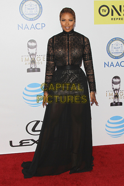 PASADENA, CA - FEBRUARY 5: Eva Marcille at the 47th NAACP Image Awards presented by TV One at Pasadena Civic Auditorium on February 5, 2016 in Pasadena, California. <br /> CAP/MPI25<br /> &copy;MPI25/Capital Pictures