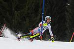 10.03.2018, Ofterschwanger Horn, Ofterschwang, GER, Slalom Weltcup in Ofterschwang, im Bild Elena Stoffel (SUI, #39)<br /> <br /> Foto &copy; nordphoto / Hafner