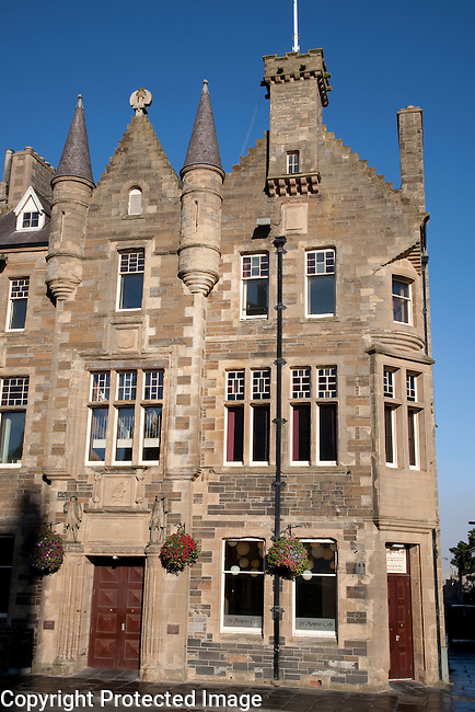 Town Hall in Kirkwall in the Orkney Islands, Scotland
