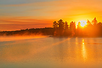 Sunrise on Kakabikitchewan Lake<br />