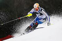 ZAGREB, CROACIA, 06 JANEIRO 2013 - COPA DO MUNDO DE ESQUI ALPINO - O competidor Andre Myhrer da Suecia durante a competicao de Slalom Gigante para homens durante a Copa do Mundo de Esqui Alpino em Zagreb na Croacia, neste domingo, 06/01/2013. (FOTO: PIXATHLON / BRAZIL PHOTO PRESS).