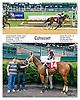 Cohasset winning at Delaware Park on 8/25/16