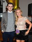 Jenny Sheard celebrating her 21st birthday in Brú with boyfriend Padraic Leddy. Photo: Colin Bell/pressphotos.ie